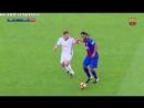Финт Роналдиньо в недавнем матче легенд