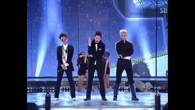 GDT.O.P, SE7EN - Passion [2010.12.29 SBS Gayo Daejun]