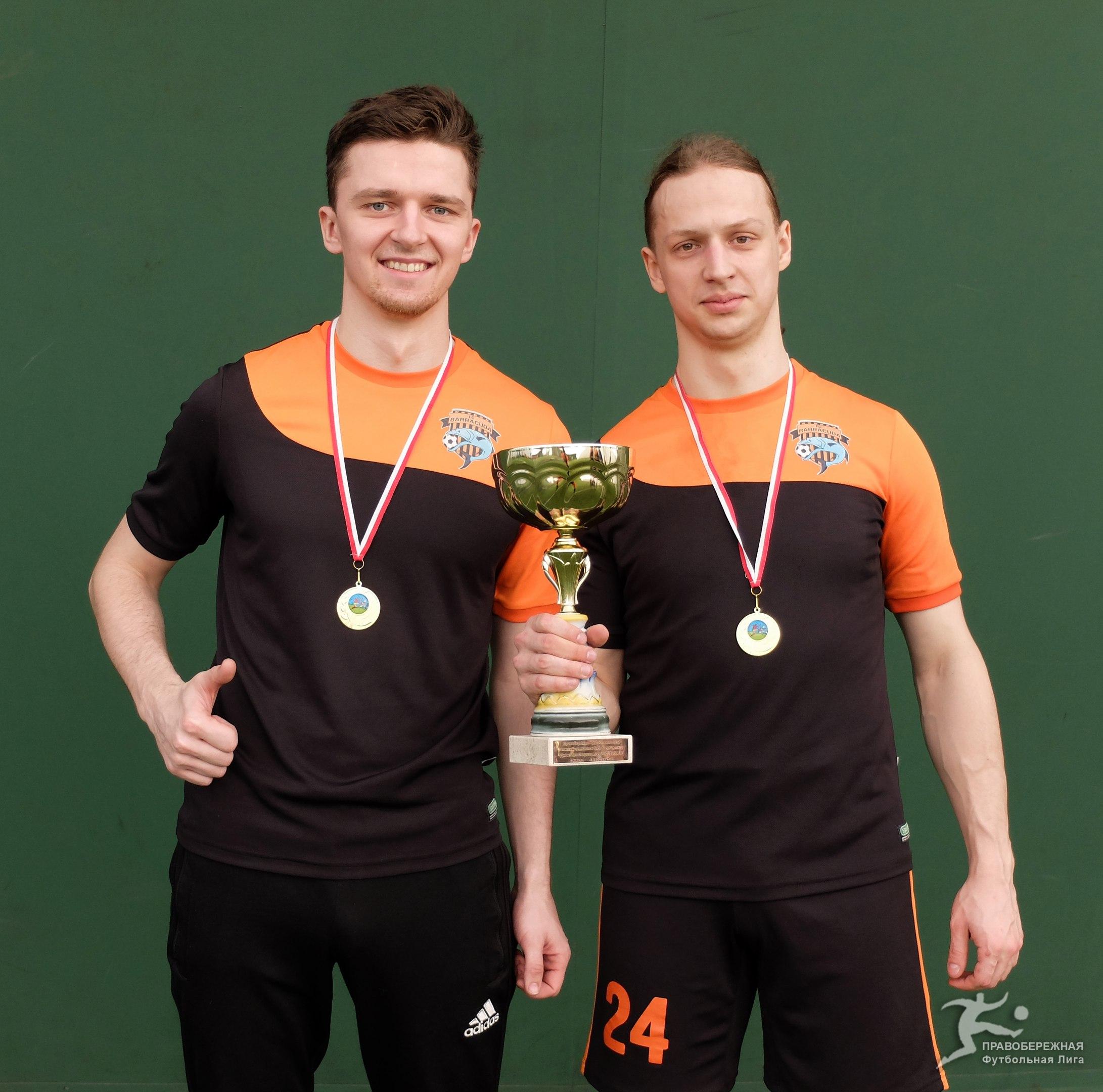 Андрей Лещев и Андрей Кочемировский (оба -