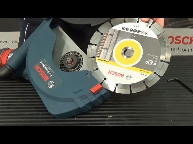 Bosch GDE - система пылеудаления для GWS (УШМ)