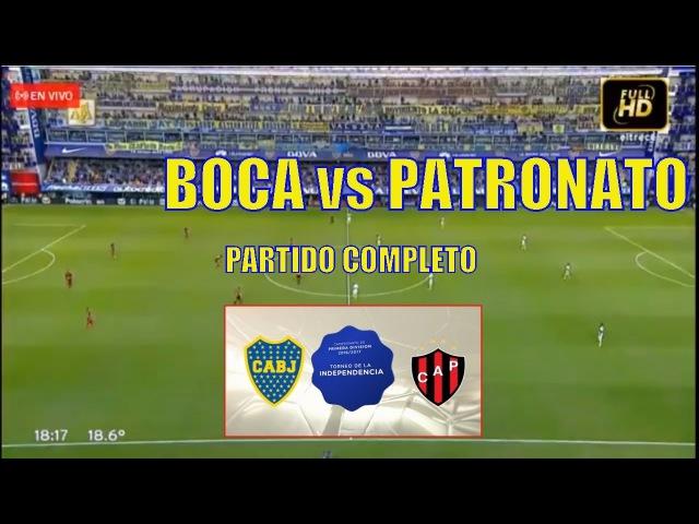 BOCA PATRONATO, PARTIDO COMPLETO