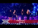 Four Of Diamonds battle it out for their place | Results Show | The X Factor UK 2016