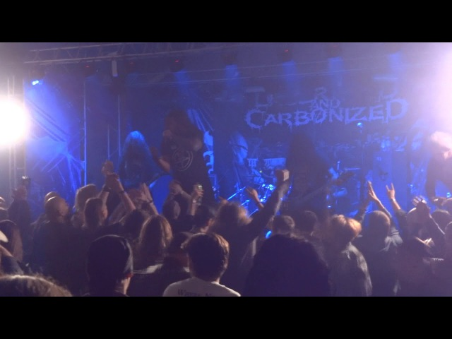 LACERATED AND CARBONIZED 1 @ BLACKENED LIFE FEST 26 08 2017 Tula, Dolina X, Russiа