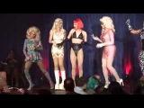 Katya, Pearl, Violet Chachki & Trixie Mattel - RuPauls Drag Race Season 7 - Detroit - 7/23/15