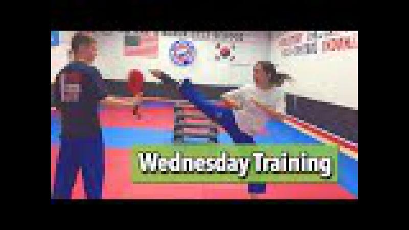 Taekwondo Training - Kickin' It with Jared Reed Rostand Kiki