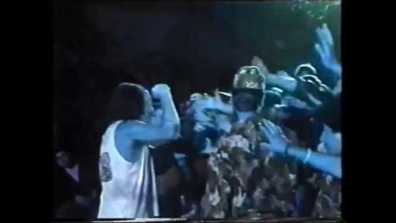 Ian Gillan and Repo Depo at at the Bucharest Festival, Romania 1992.