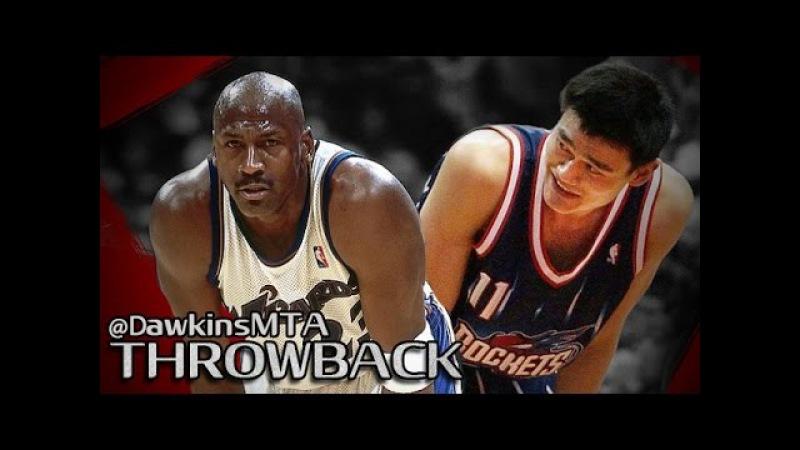 Michael Jordan vs ROOKIE Yao Ming Full Duel 2003.02.27 - 16 For Yao, 35, Pts,11 Rebs, For CLUTCH MJ!