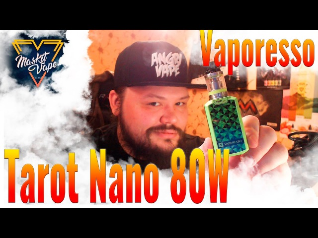 Tarot Nano 80W by Vaporesso | iJust s Сасает | Карманный Монстр !