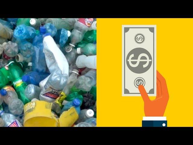 El negocio de convertir la basura de plástico en ropa