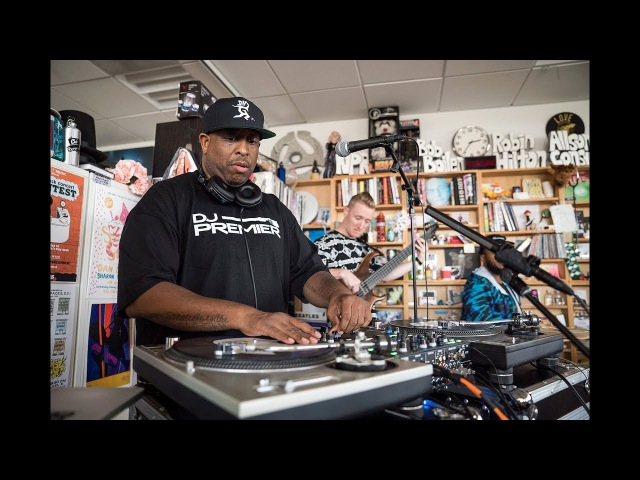 DJ Premier The Badder Band: NPR Music Tiny Desk Concert
