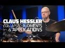 Claus Hessler Collapsed Rudiments Applications FULL DRUM LESSON Drumeo