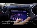Volkswagen Amarok установка магнитолы на Android 6 Fakard 010L1 и камеры заднего вида
