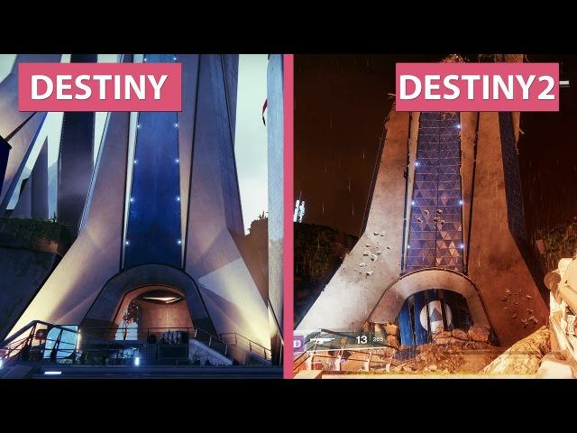 Destiny 1 vs. Destiny 2 Beta Graphics Comparison