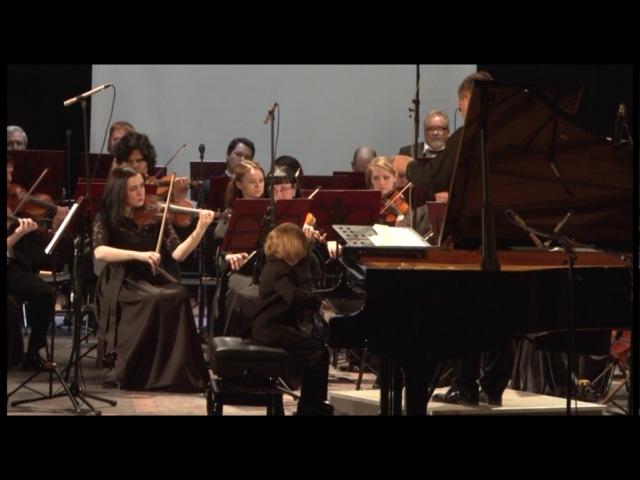 Елисей Мысин И.С.Бах Концерт фа минор №5 I часть