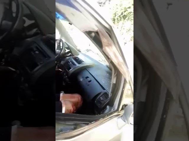 Ladrão se dá mal, roubou carro de deficiente e não soube usar o freio
