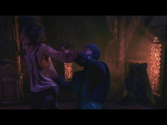 Mortal Kombat (1995) - Лю Канг vs. Рептилия [1080p]