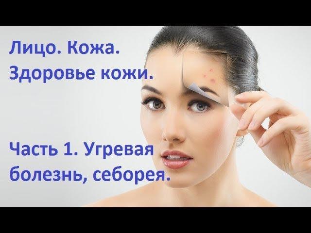 Лицо. Кожа. Здоровье кожи. Часть 1 - Угревая болезнь, себорея.