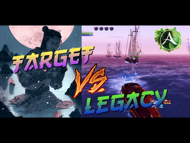Archeage 3.0   Open World PVP Target VS Legacy   Server Ariya