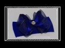 Laço de Cetim 🎀 Laço Mil Faces Glamuor 🎀 DIY 🎀 PAP 🎀 TUTORIAL 🎀 Iris Lima