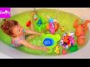 ВИДЕО ДЛЯ ДЕТЕЙ ФОНТАН в ванне ЩЕНЯЧИЙ ПАТРУЛЬ Беби бон и ещё куча игрушек