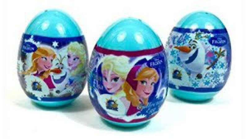 Disney FROZEN Surprises Eggs and Blind Bags with Queen Elsa Princess Anna Olaf 3S