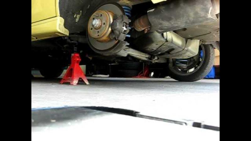 Volvo 850 T5-R Remus exhaust minus one muffler