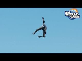 Nitro World Games 2017 Skate Semifinalists Hitting the Big Ramp