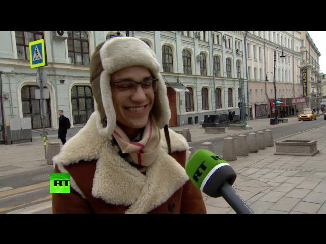 Правда или фейк люди на улицах Москвы отделяют факты от вымысла