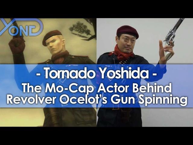 The Mo-Cap Actor Behind Revolver Ocelots Gun Spinning Tornado Yoshida