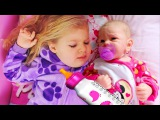 ВРЕДНЫЙ МАЛЫШ Беби Бон ГРОМКО ПЛАЧЕТ Диана как Мама для Куклы Baby Born Видео для Дет...