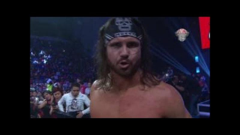 Johnny Mundo Vs Texano Jr. por el Tricampeonato en Puebla - Lucha Libre AAA Worldwide - Ag
