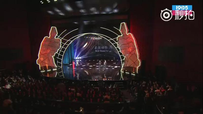 Jackie Chan and Sammo Hung at Gala Night of Jackie Chan Action Movie Week