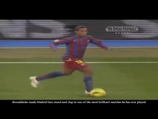 Знаменитый матч в карьере Роналдиньо