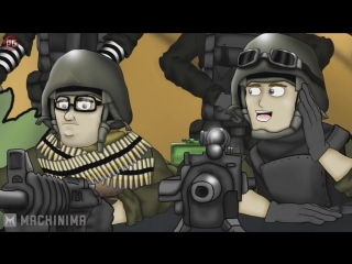 Друзья по Battlefield - Кемперы (3 серия) [2 сезон]
