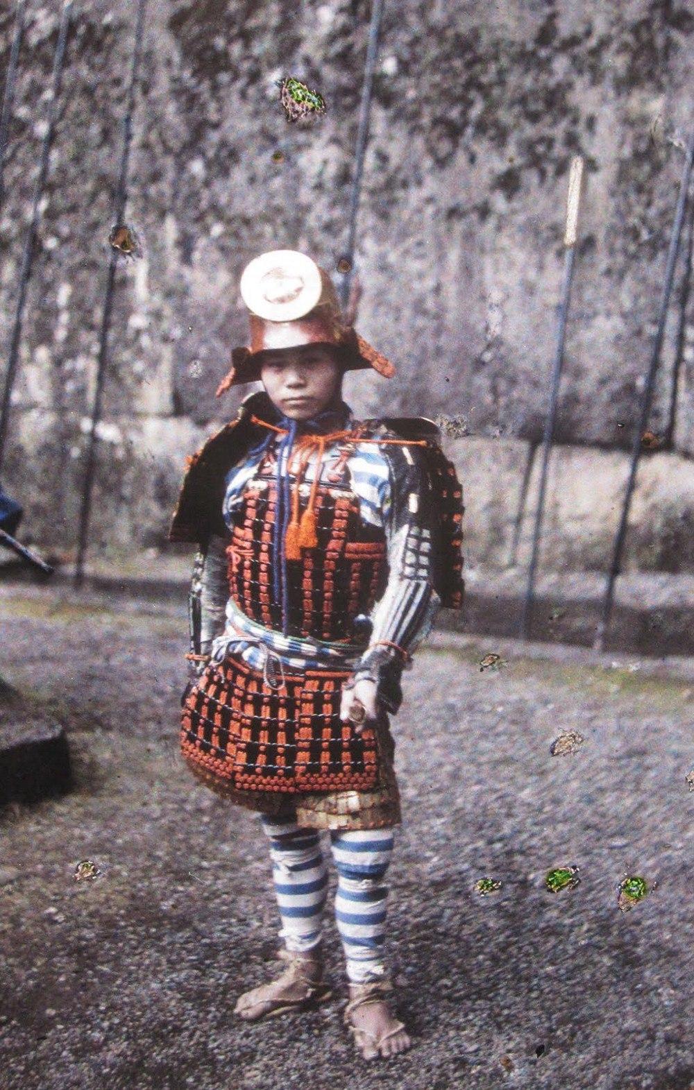 Япония (юный самурай), 1912. © Музей Альберта Кана