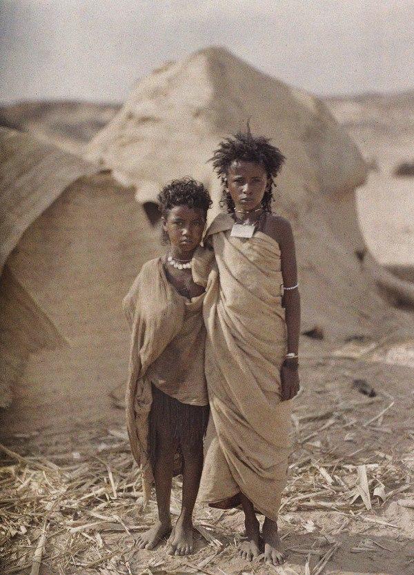Египет, г. Асуан, 1914. © Музей Альбера Кана
