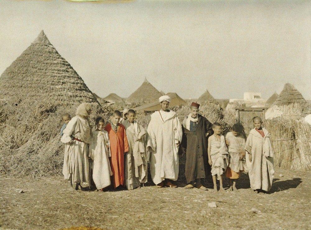 Марокко, г. Бен-Герир, 1912. © Музей Альберта Кана