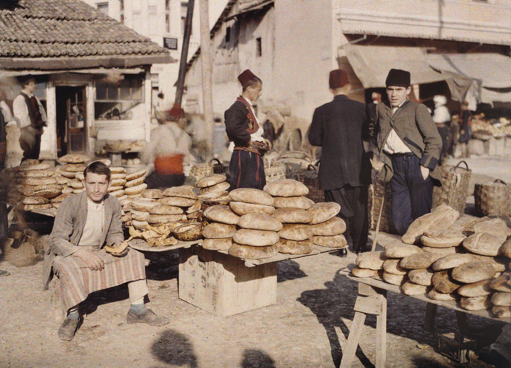 Босния и Герцеговина, г. Сараево, 1912. © Музей Альберта Кана