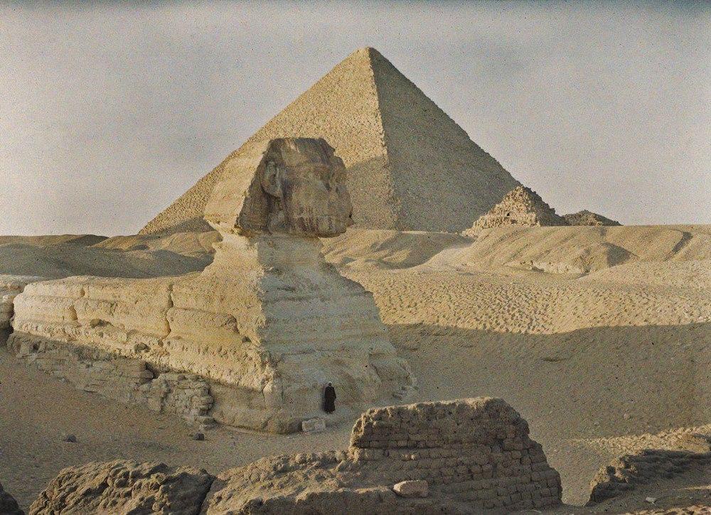 Египет, г. Гиза, 1913. © Музей Альберта Кана