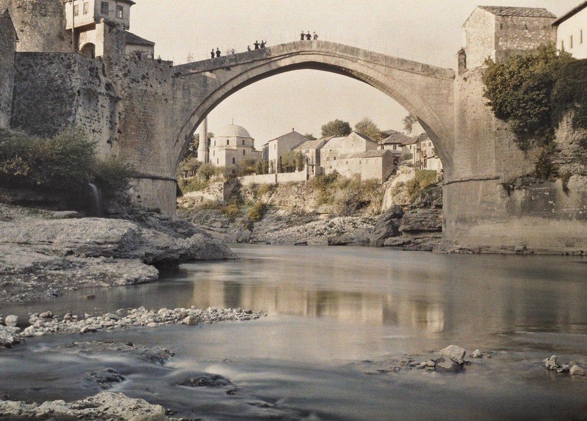 Босния и Герцеговина, г. Мостар, 1913. © Музей Альберта Кана