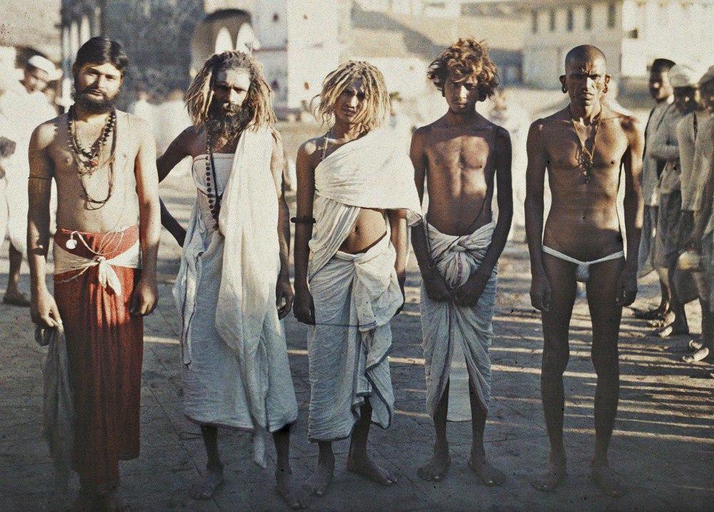Индия, г. Бомбей (Садус), 1913. © Музей Альберта Кана