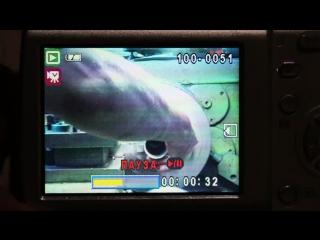 Отрезание нержавеющей трубы д-48мм
