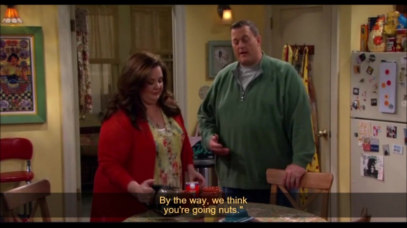 Mike and Molly (go nuts)