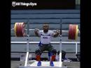 Берни Бернардин (69 кг). Глубокий присед 220 кило! (GoB channel)