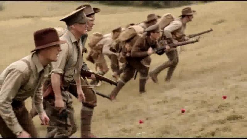Галлиполийская история (2015). Бой австралийцев с турками на Галлиполийском полуострове