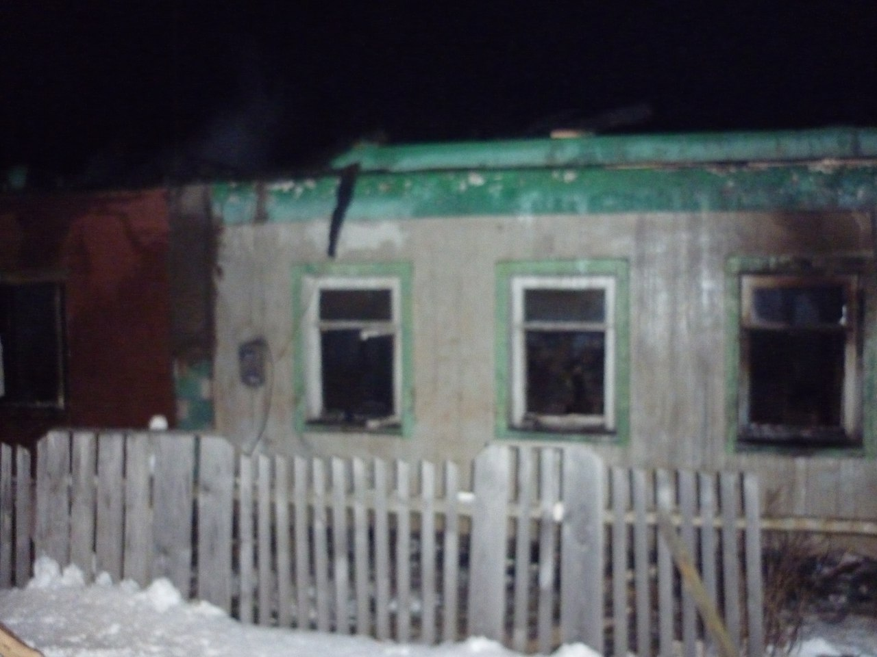 Под Калугой впожаре погибли двое детей