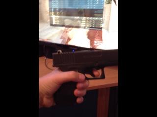 Прикупил себе пистолет