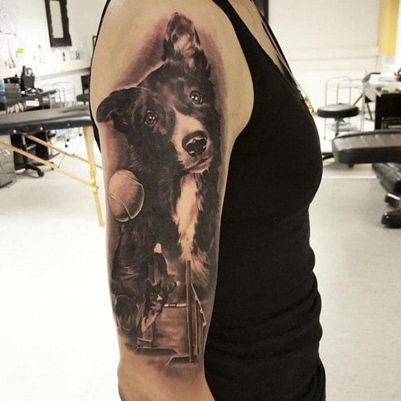 Татуировки собачников: может набить себе татуху с котом?