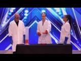 Химик-экспериментатор на шоу талантов