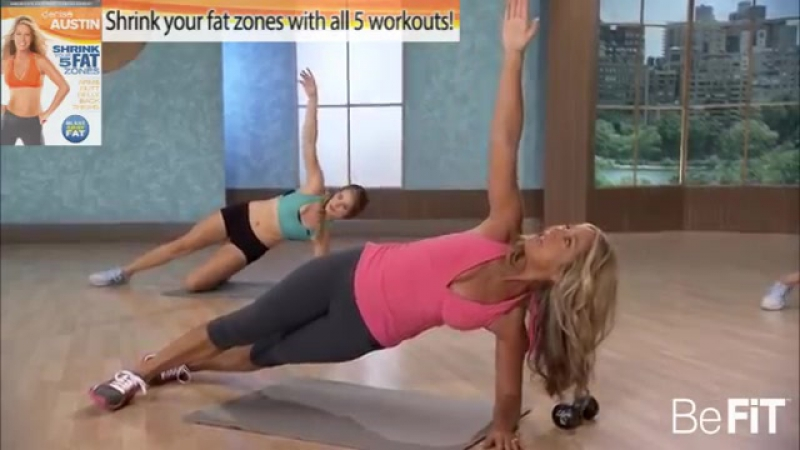Shrink Belly Fat Cardio Abs Workout_ Denise Austin